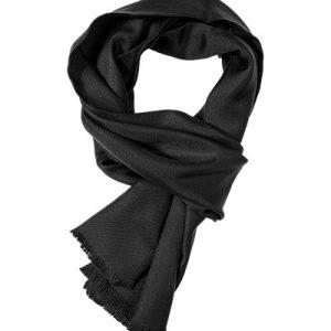 Ascot Seidenschal schwarz 8180061/1