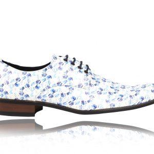 Blue Hexagon - Lureaux - Handgemachte Designer Schuhe