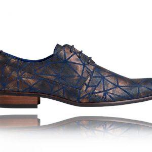 Bronzi Triangle - Lureaux - Handgemachte Designer Schuhe