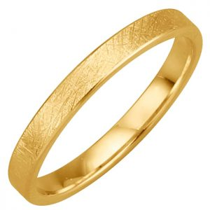 Trauring in Gelbgold Harmony Gelb