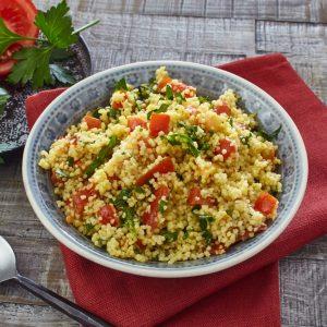 Couscous-Salat mit Blattpetersilie