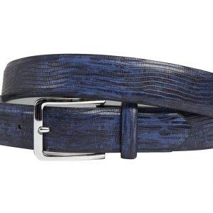 Blue Heaven (Gürtel) - Lureaux - Handgemachte Designer Gürtel