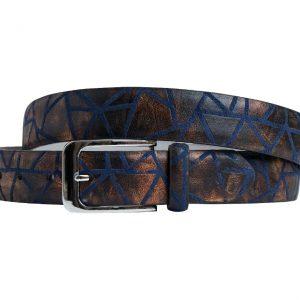 Bronzi Triangle (Gürtel) - Lureaux - Handgemachte Designer Gürtel